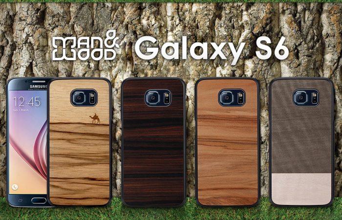 天然木のスリムなGalaxy S6ケース発売