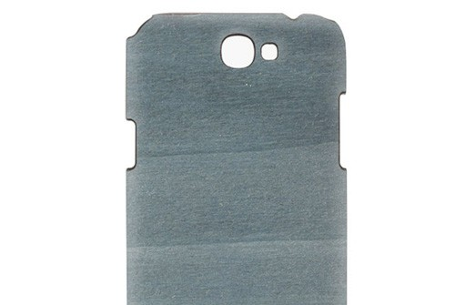【Galaxy note2】 Real wood case Vivid Bolivar blue[ボリバルブルー] I1840GNT2