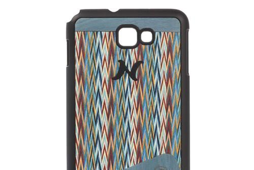 【Galaxy Note】 天然木 Man&Wood wood-fit Season 1 Harmony Enricos Check I1241GNT