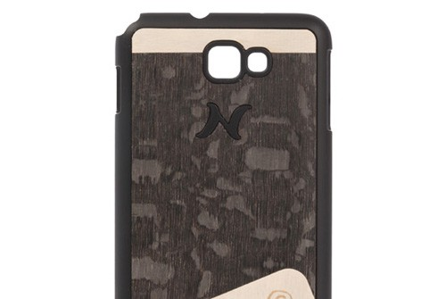 【Galaxy Note】 天然木 Man&Wood wood-fit Season 1 Harmony Carvalho Nero I1244GNT