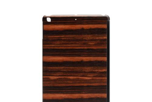 【iPad Air】 Real wood case Genuine Ebony(リアルウッドケース ジェニュイン エボニー)ブラックフレーム カバー付き I3007iPA
