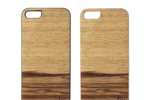【iPhone SE/5/5s】 Man&Wood Real wood case Genuine Terra(マンアンドウッド テラ)アイフォン 天然木