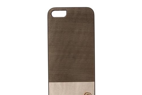 【iPhone SE/5/5s】 Man&Wood Real wood case Harmony Einstein(マンアンドウッド アインシュタイン)アイフォン 天然木