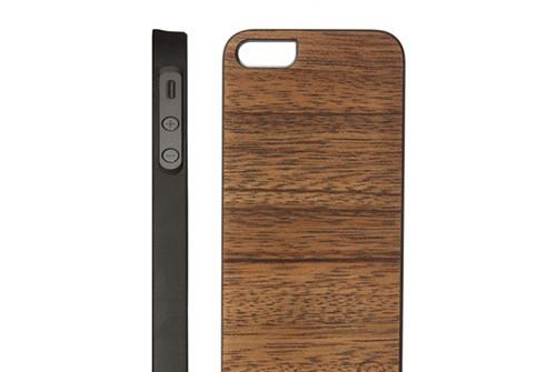 【iPhone SE/5/5s】 Man&Wood Real wood case Genuine Lamio (マンアンドウッド ラミオ) アイフォン 天然木