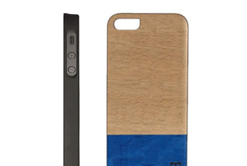 【iPhone SE/5/5s】 Man&Wood Real wood case Harmony Dove Bar (マンアンドウッド ハーモニーダブバー)アイフォン 天然木