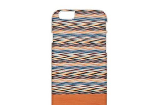 【iPhone6sPlus/6Plus】 天然木 Man&Wood Peroa check(マンアンドウッド ぺロアチェック)アイフォン
