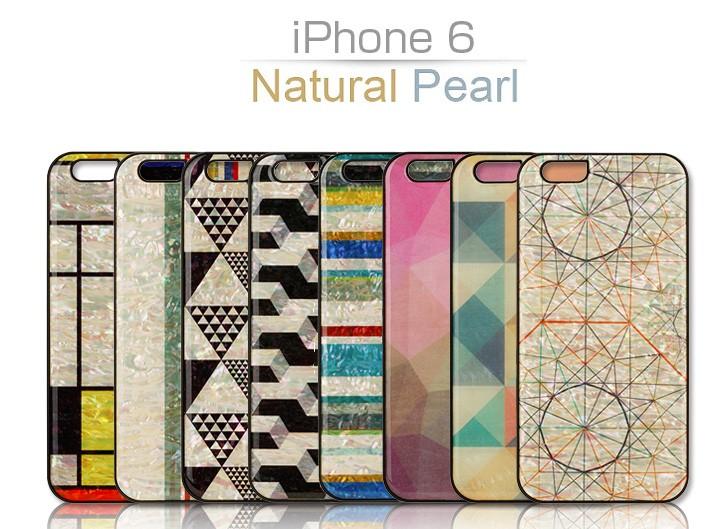 【iPhone6s/6 ケース】ikins 天然貝ケース(テンネンガイケース) アイフォン