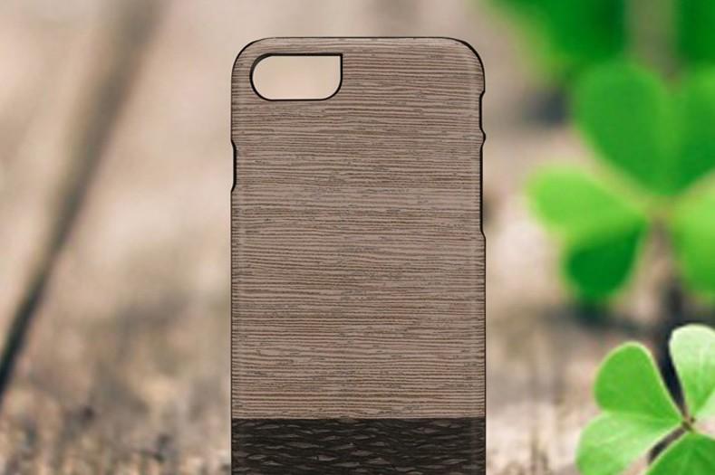 【iPhone7 ケース】 天然木 Man&Wood Lattis(マンアンドウッド ラティス)アイフォン カバー 木製 予約