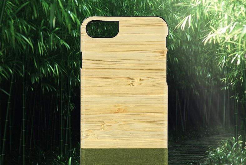 【iPhone7 ケース】 天然木 Man&Wood Bamboo Forest(マンアンドウッド バンブーフォレスト)