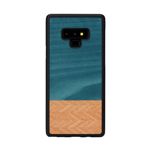 Galaxy Note9 ケース 天然木 ケース Man&Wood Denim(マンアンドウッド デニム)