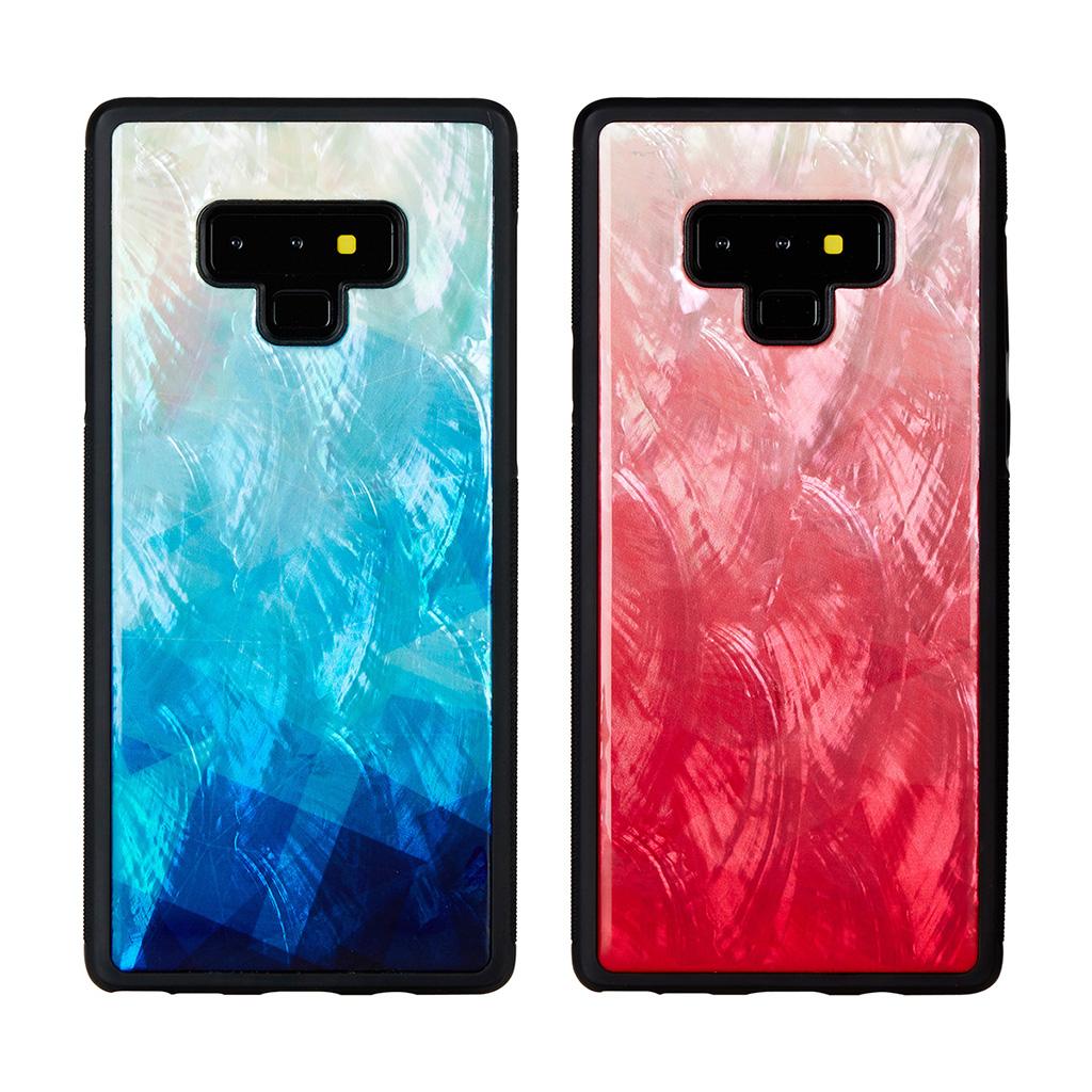 Galaxy Note9 ケース 天然貝 ケース ikins Lake(アイキンス レイク)