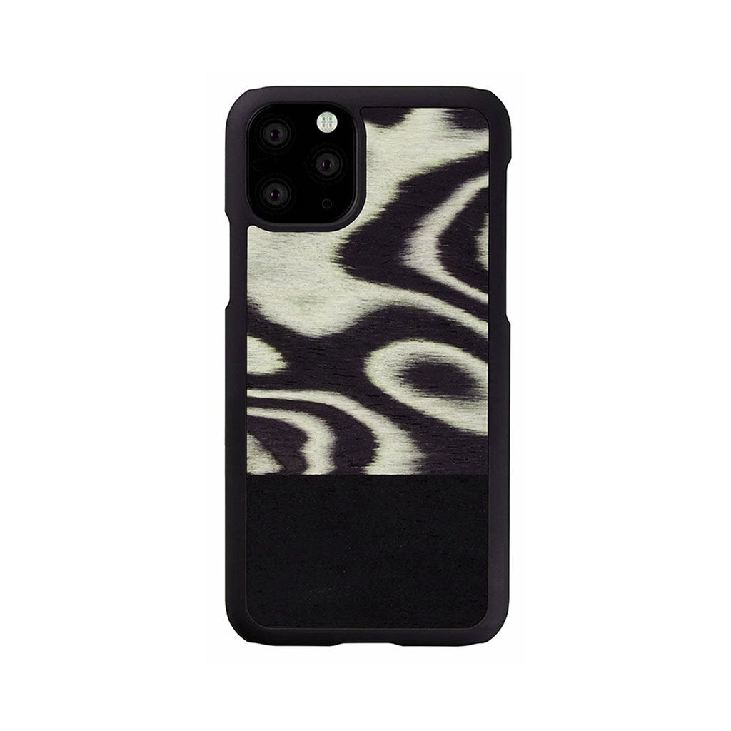 Man&Wood iPhone 11 Pro 天然木ケース Leopard