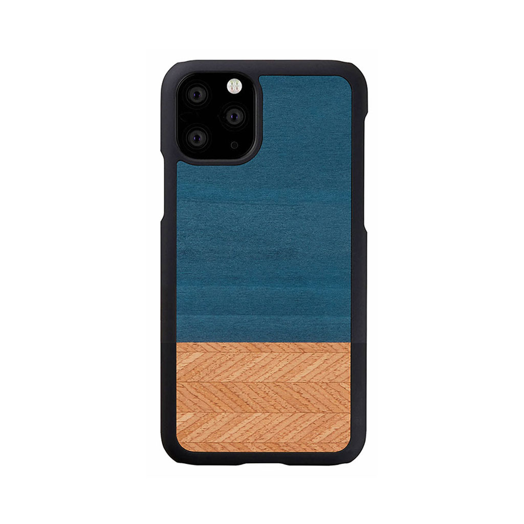 Man&Wood iPhone 11 Pro Max 天然木ケース Denim