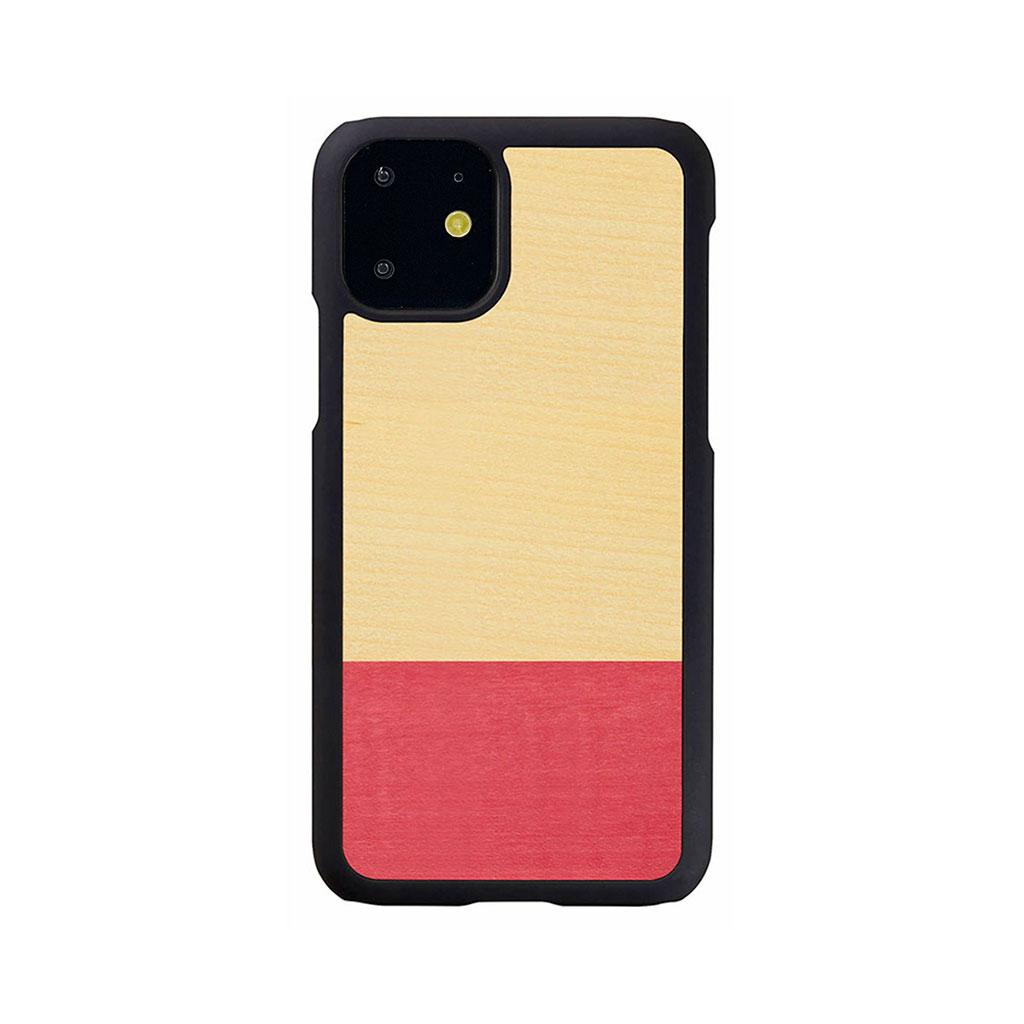 Man&Wood iPhone 11 天然木ケースMiss match
