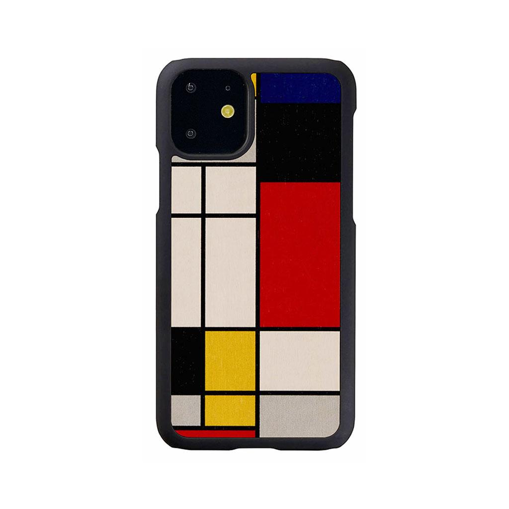 Man&Wood iPhone 11 天然木ケース Mondrian Wood