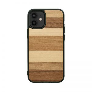 【iPhone 12 Pro / 12 / 11 ケース】Man&Wood Sabbia【天然木ケース】