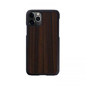 2020 新型 iPhone 12 Pro Max ケース [iPhone 11 Pro Max ケース] 天然木 ケース Man&Wood Ebony アイフォン カバー スマホケース