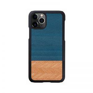 2020 新型 iPhone 12 Pro Max ケース [iPhone 11 Pro Max ケース] 天然木 ケース Man&Wood Denim アイフォン カバー スマホケース