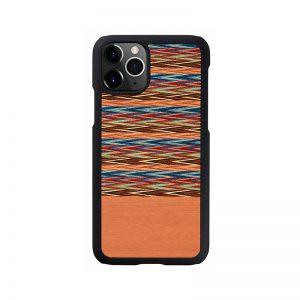 2020 新型 iPhone 12 Pro Max ケース [iPhone 11 Pro Max ケース] 天然木 ケース Man&Wood Browny Check アイフォン カバー スマホケース