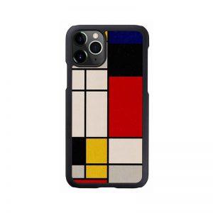 2020 新型 iPhone 12 Pro Max ケース [iPhone 11 Pro Max ケース] 天然木 ケース Man&Wood Mondrian Wood アイフォン カバー スマホケース