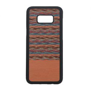 Galaxy S8+ 天然木ケース Browny Check