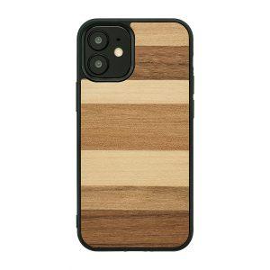【iPhone 12 mini / 11 Pro ケース】Man&Wood Sabbia 【天然木ケース】