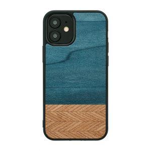2020 新型 iPhone 12 Pro / 12 iPhone ケース [iPhone iPhone11 ケース] 天然木 ケース Man&Wood Denim アイフォン カバー スマホケース