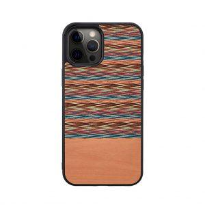 【iPhone 12 Pro Max / 11 Pro Max ケース】Man&Wood Browny Check【天然木ケース】