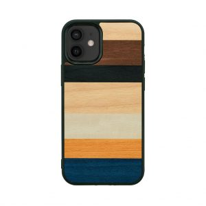 【iPhone 12 mini ケース】Man&Wood Province【天然木ケース】