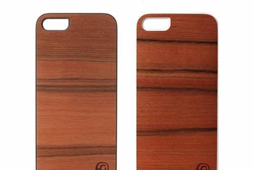 【iPhone SE/5/5s】 Man&Wood Real wood case Genuine Sai Sai(マンアンドウッド サイサイ)アイフォン 天然木