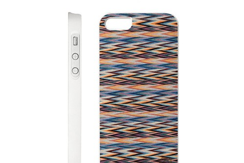 【iPhone SE/5/5s】 Man&Wood Real wood case Caleido Elena's Check(マンアンドウッド エレナス チェック)アイフォン 天然木