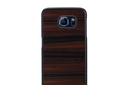 【Galaxy S6】 天然木ケース Ebony(テンネンモクケース エボニー)ギャラクシー