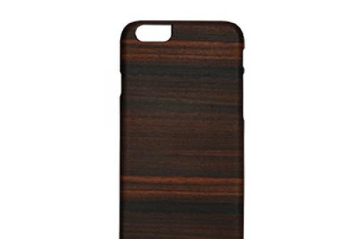 【iPhone6sPlus/6Plus】 天然木 Man&Wood Ebony(マンアンドウッド エボニー)アイフォン