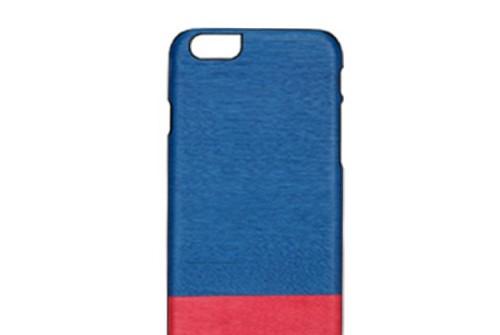 【iPhone6sPlus/6Plus】 天然木 Man&Wood Midnight fever(マンアンドウッド ミッドナイトフィーバー)アイフォン