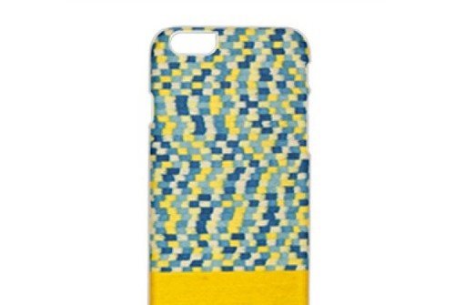 【iPhone6sPlus/6Plus】 天然木 Man&Wood Yellow Submarine(マンアンドウッド イエローサブマリン)アイフォン