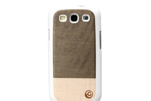 【GALAXY S3 SC-06D/GALAXY S3 α SC-03E】 docomo 天然木 Real wood case Einstein I1696GS3