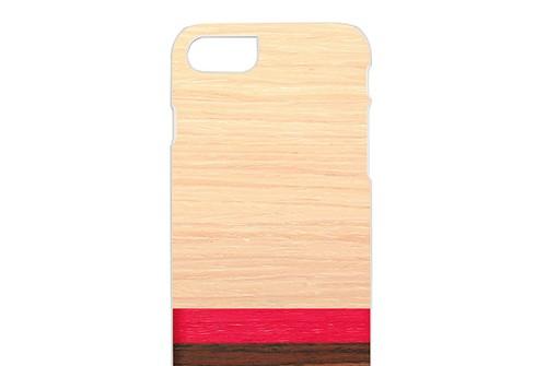 【iPhone7 ケース】 天然木 Man&Wood Rosewash(マンアンドウッド ローズウォッシュ)