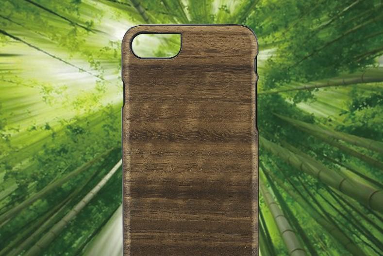 【iPhone7 ケース】 天然木 Man&Wood Koala(マンアンドウッド コアラ)