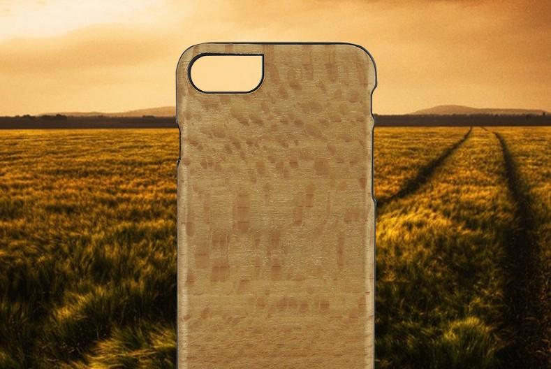 【iPhone7 ケース】 天然木 Man&Wood Platano(マンアンドウッド プラターノ)