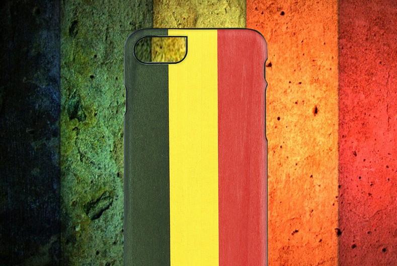 【iPhone7 ケース】天然木 Man&Wood Reggae(マンアンドウッド レゲエ)