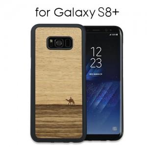 Galaxy S8+ 天然木ケース Terra