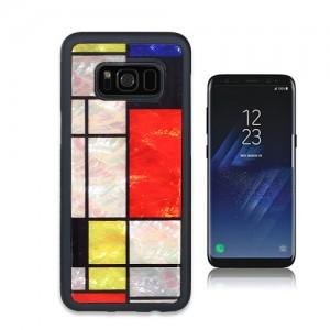 Galaxy S9 / Galaxy S8 天然貝ケース ikins Mondrian