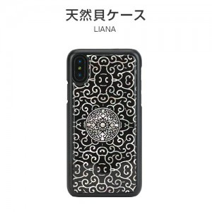 iPhone XS / X ケース 天然貝 ikins Liana(アイキンス リアナ)