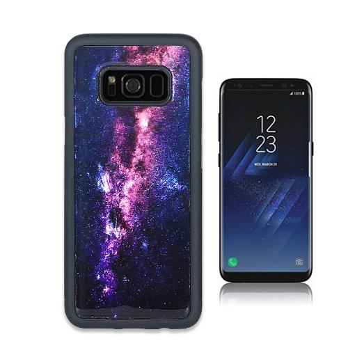 Galaxy S9 ケース Galaxy S8 天然貝ケース ikins Milky Way(アイキンス テンネンガイ ミルキーウェイ)