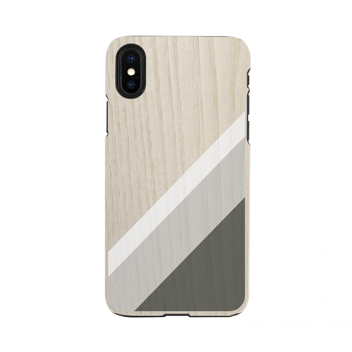iPhone XR ケース 天然木 Man&Wood Suit(マンアンドウッド スーツ)