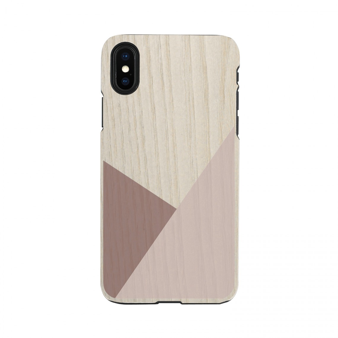 iPhone XR ケース 天然木 Man&Wood Tulip(マンアンドウッド チューリップ)