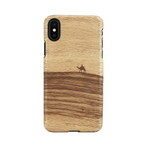 iPhone XR ケース 天然木 Man&Wood Terra(マンアンドウッド テラ)