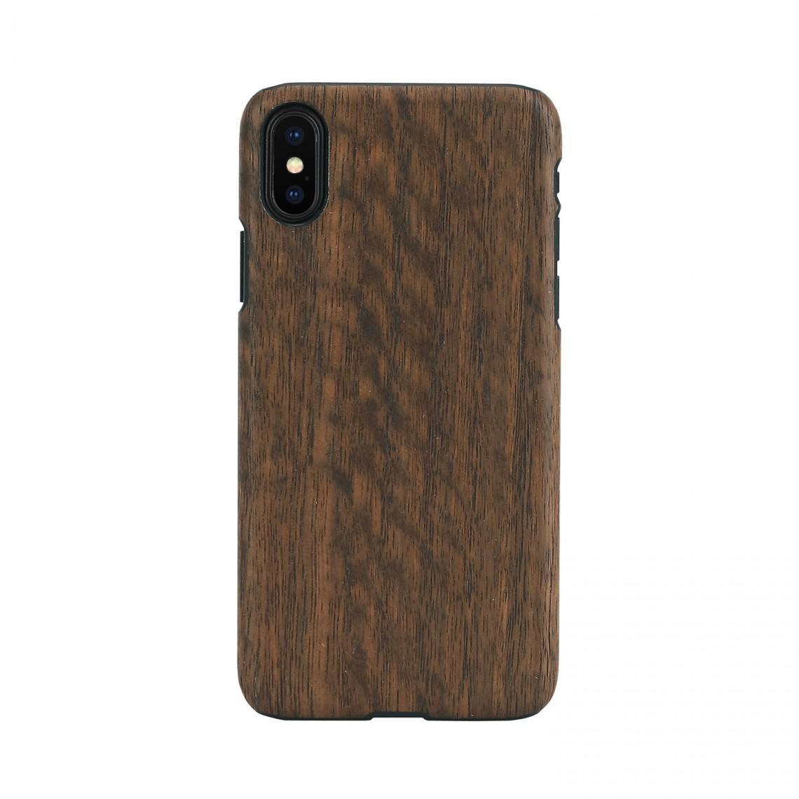 iPhone XR ケース 天然木 Man&Wood Koala(マンアンドウッド コアラ)