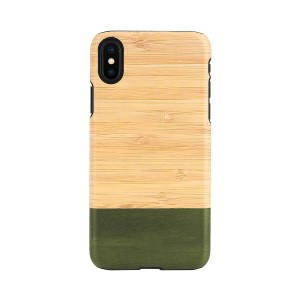 iPhone XR ケース 天然木 Man&Wood Bamboo Forest(マンアンドウッド バンブーフォレスト)