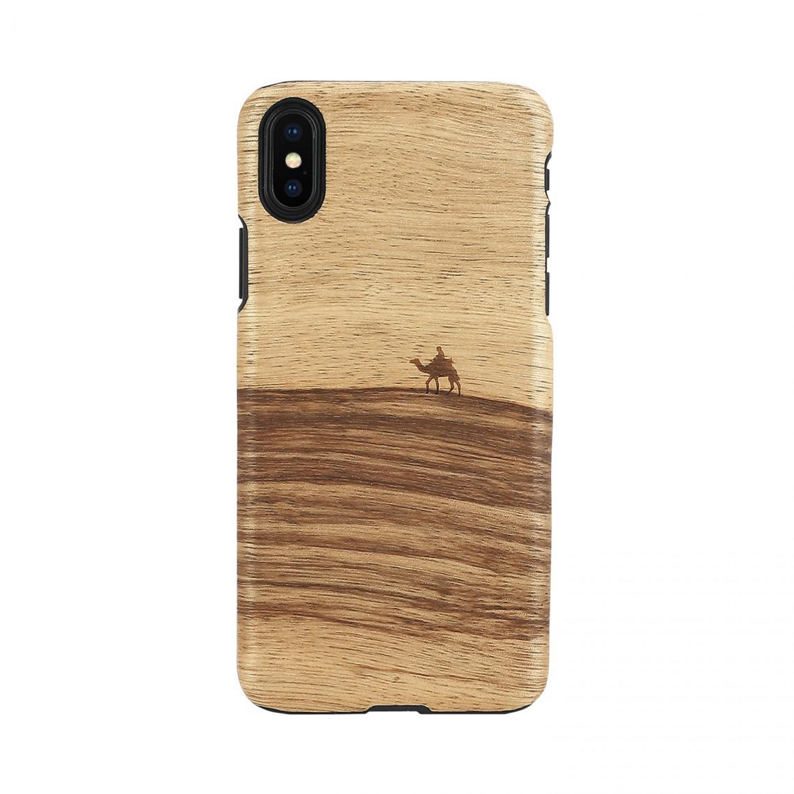 iPhone XS Max ケース 天然木 Man&Wood Terra(マンアンドウッド テラ)